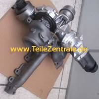 Turbolader Rolls-Royce Ghost (RR4 / RR5) 570 PS (Rechte Seite) 830104-5001S 821721-5003S 821721-5002S 830104-0001 821721-0003 821721-0002 11657646095 11654615211 11657599314