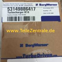 NEW BorgWarner KKK Turbocharger Case-IH Traktor 3.1L 53149706400 53149706401 53149706402 (deposit!)